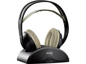 Kvalitní bezdrátová polootevřená dynamická sluchátka AKG K912 v černé barvě