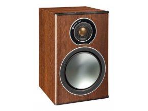 Kvalitní 2-pásmová regálová stojanová reprosoustava s bassreflexem Monitor Audio Bronze 1