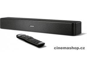 Kvalitní 2.1 kanálový zvukový panel- soundbar pro výrazné zlepšení zvuku z televizoru Bose Solo 5