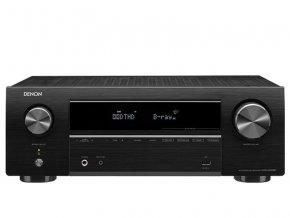 Kvalitní 5ti kanálový AV receiver s plnou podporou 4K videa a možností ovládání pomocí aplikace po Bluetooth DENON AVR-X550BT