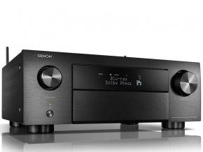 Kvalitní 9.2 kanálový AV přijímač s prostorovým zvukem nabízející nejpokročilejší 3D audio nástroje s integrovanou podporou DENON AVR-X4500H