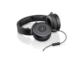 akg y55 black dj ready headphones with enriched bass snug fit and in line remote microphone with volume control black