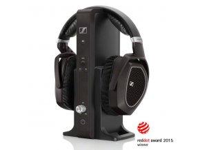 Kvalitní digitální stereo souprava s otevřenými stereo sluchátky Sennheiser RS 185