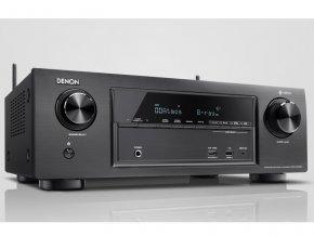 Kvalitní 7.2 kanálový AV přijímač s plným 4K Ultra HD s výkonem 145W na kanál Denon AVR-X1400H