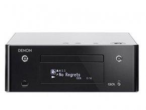 Kvalitní CD a bezdrátový hudební systém pro síťový streaming, internetové rádio, AirPlay a Spotify Denon RCD-N9