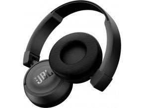 Kvalitní bezdrátová Bluetooth (4.0) uzavřená dynamická sklopná sluchátka on-ear JBL T450BT