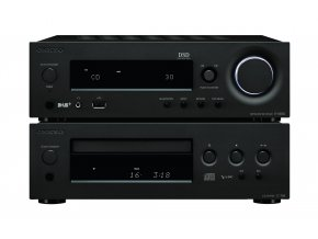 Kvalitní kompaktní Hi-Fi systém (R-N855 a C-755) s repro Onkyo (D-175) Onkyo CS-N1075