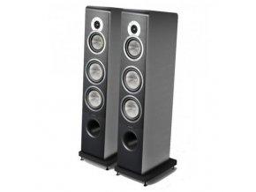 Kvalitní sloupové (podlahové) 3-pásmové reprosoustavy pro zesilovače 40- 250 W s impedancí 4 Ohmy, vysokou citlivostí a malebným a přesným zvukem Sonus Faber Principia 5