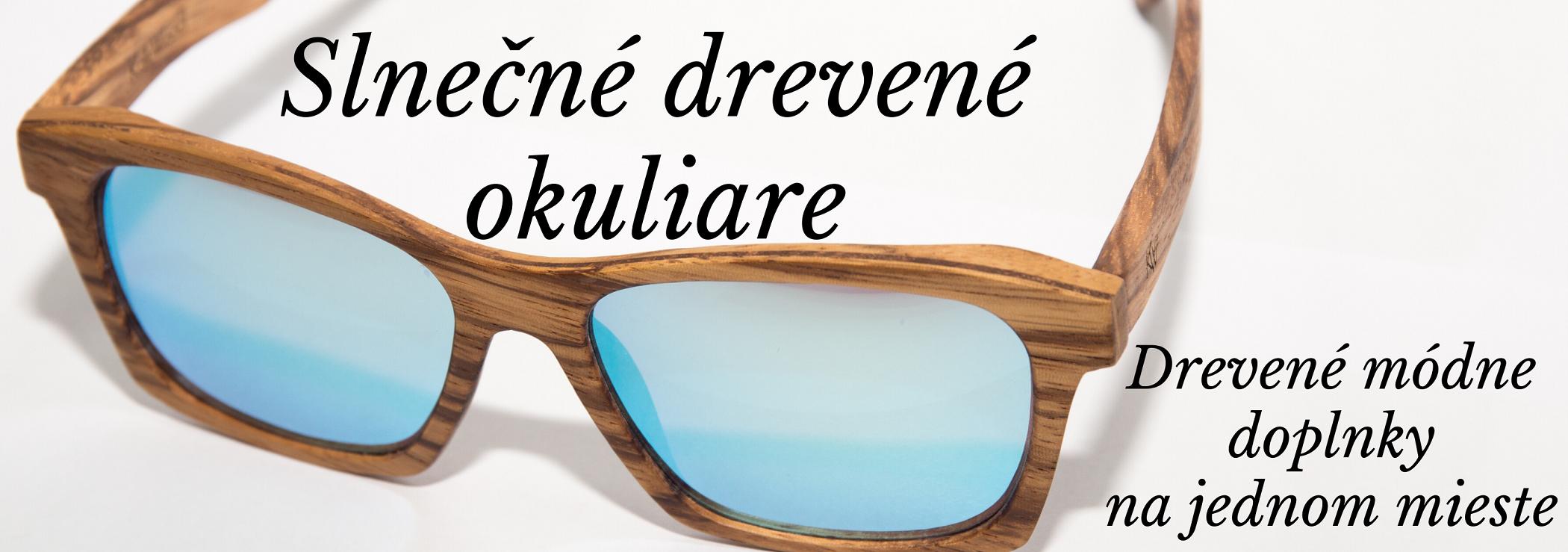 CINGITIME drevené slnečné okuliare