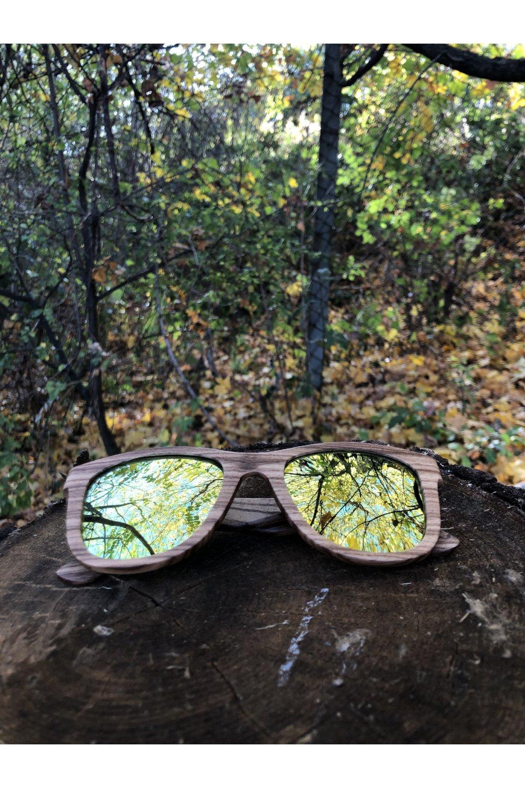 Drevené slnečné okuliare Skien