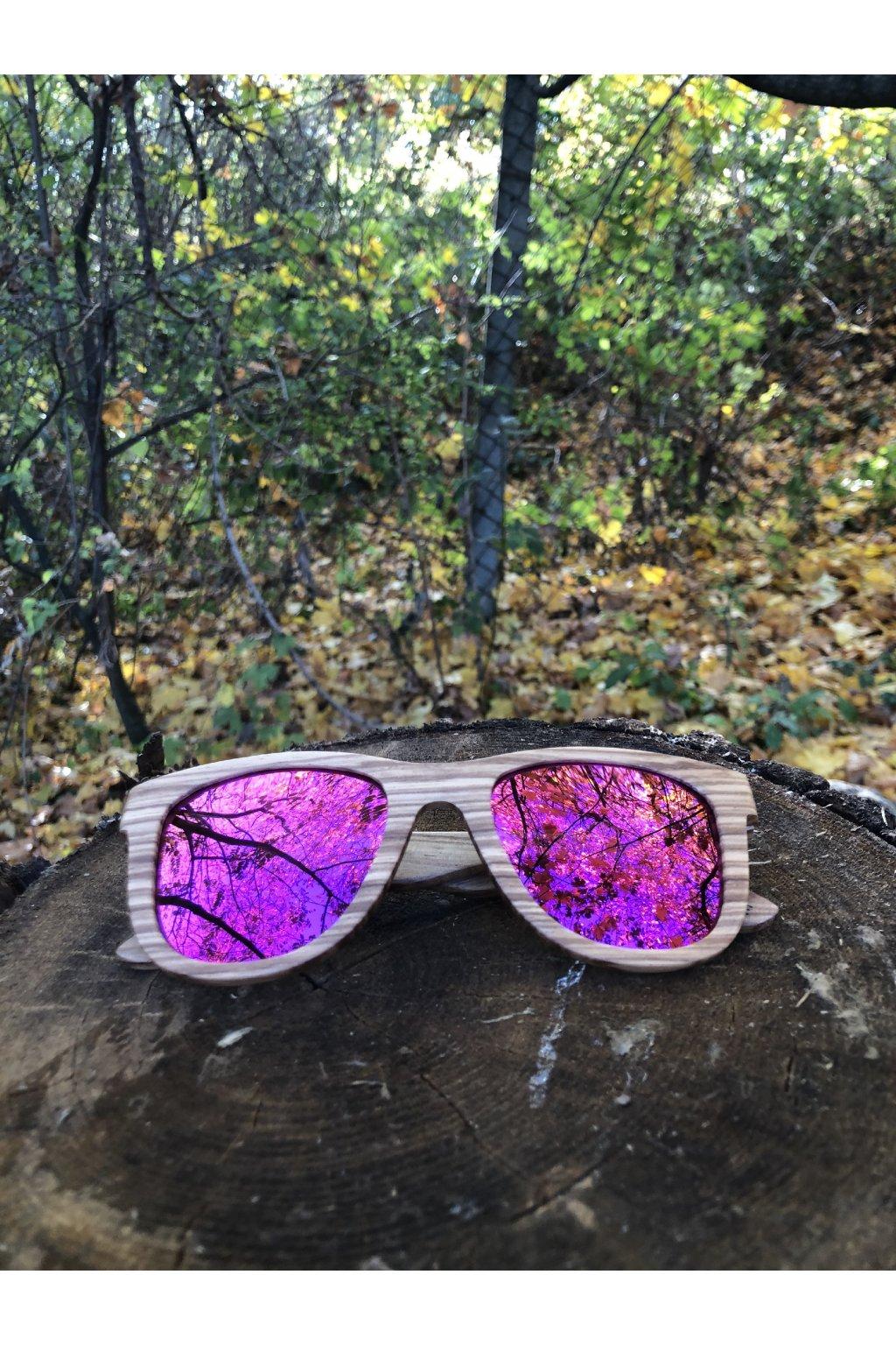 Drevené slnečné okuliare Brevik