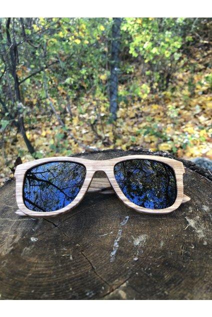 Drevené slnečné okuliare Larvik