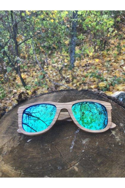 Drevené slnečné okuliare Drammen