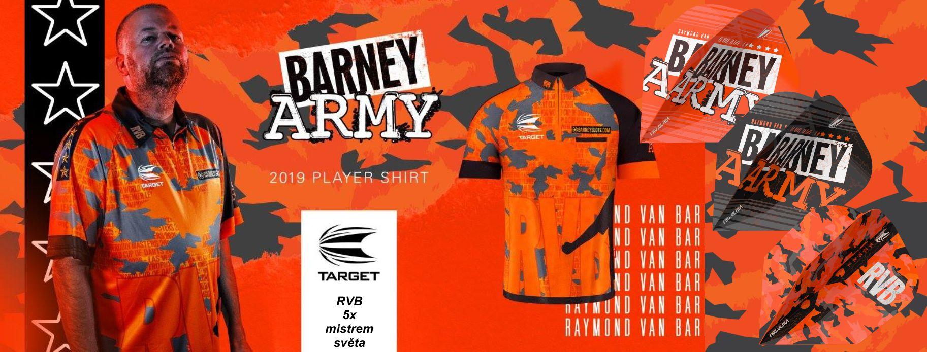 tričko Barney Army 2019