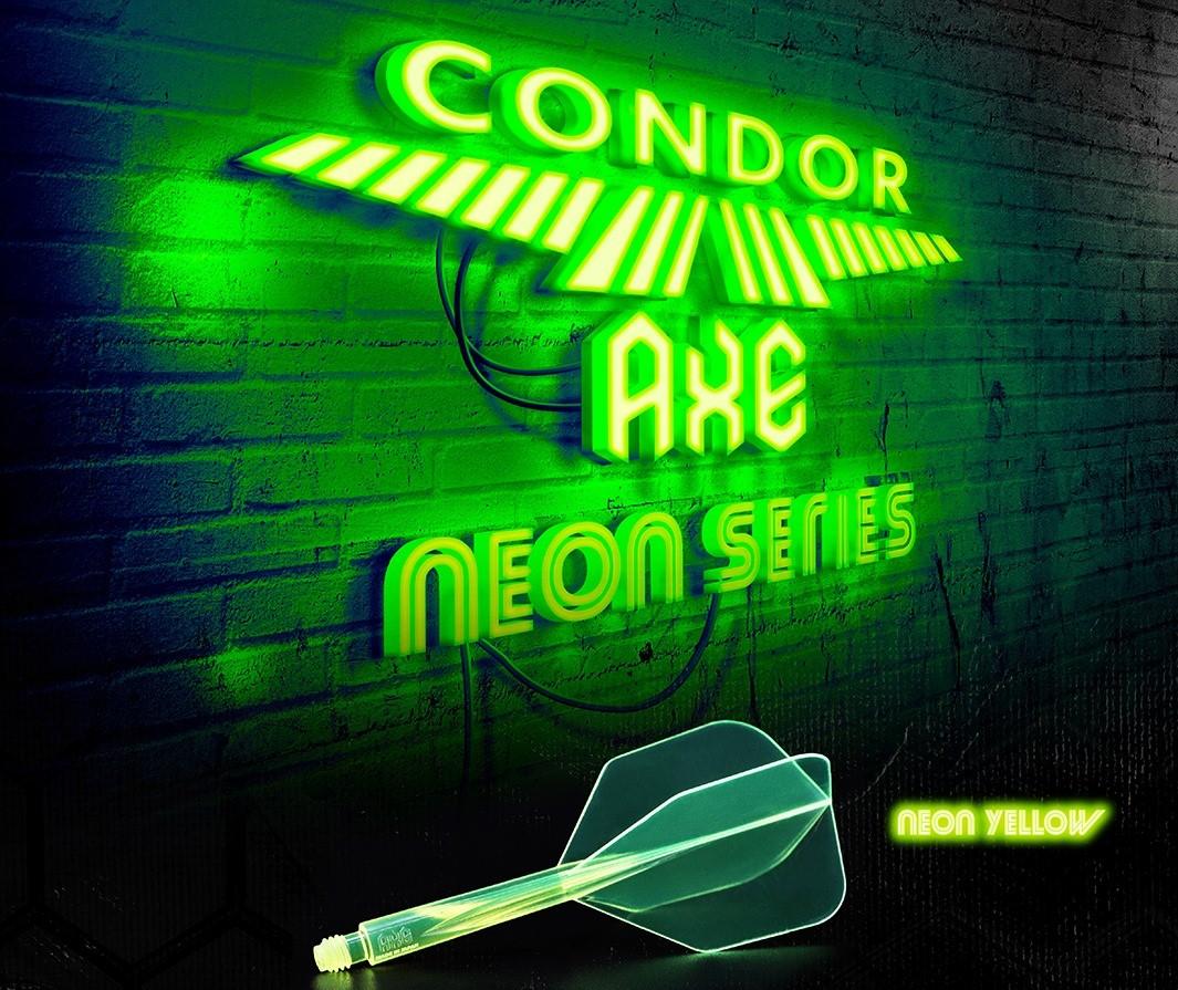 Nové letky Condor AXE vyrobené díky materiálu 21. století - speciální pryskyřici.