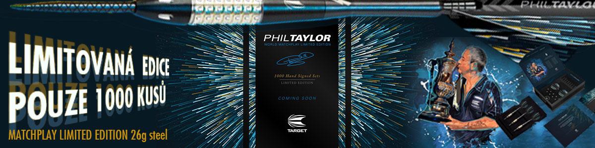 Phil Taylor darts limitet edition 26g