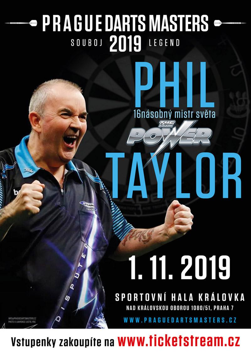Phil Taylor opět na show v Praze