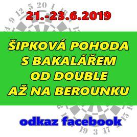 Turnaj šipková pohoda s Bakalářem 2019