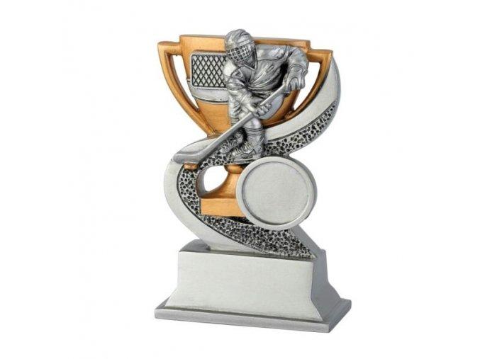 Trofej CRF0124 hokejista Výška 12cm