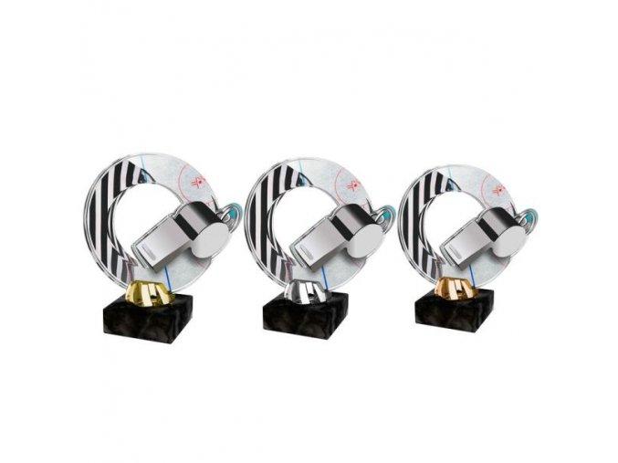 Akrylátová trofej CACL2101M10 Hokej