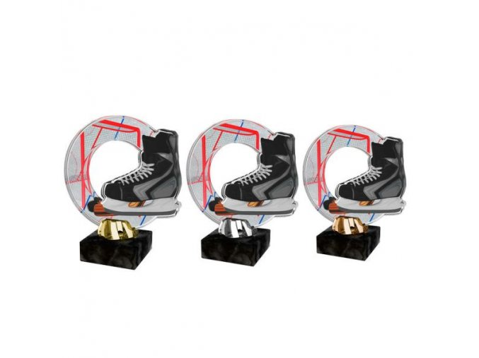Akrylátová trofej CACL2101M9 Hokej