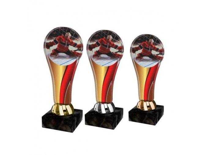 Akrylátová trofej ACL2100M12 Hokej