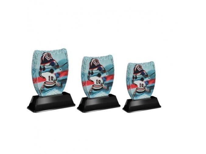 Akrylátová trofej ACE2001M06 Hokej