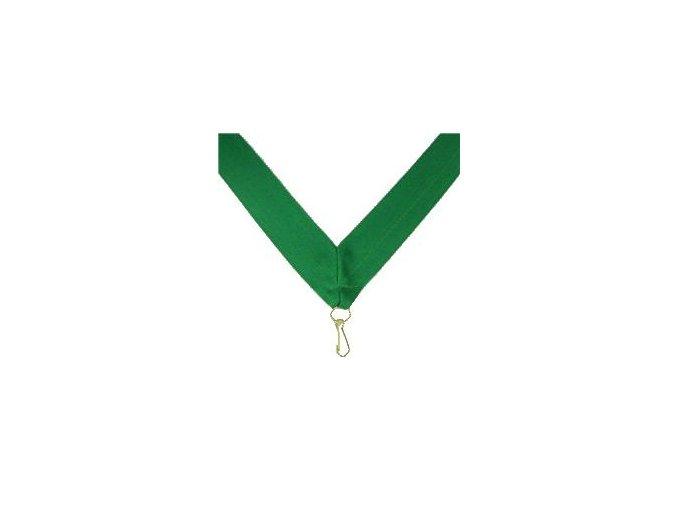 Stuha Zelená V 2cm