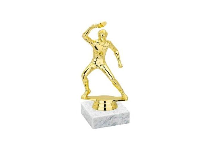 Figurka F8366 gold stolní tenis