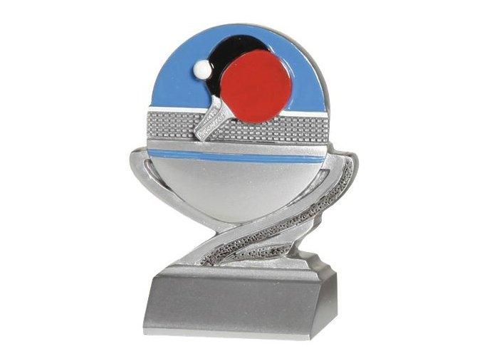Trofej plaketa CRFB0105 stolní tenis Výška 10 cm