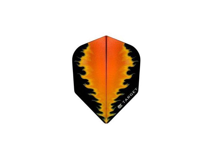 Letky PRO 100 VISION NEW standard orange/black Fire NO6