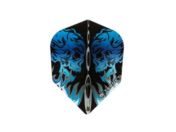 Letky VISION standard Skull Facing blue NO6