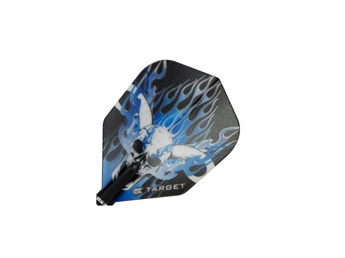 Letky PRO 100 VISION standard black/blue skull