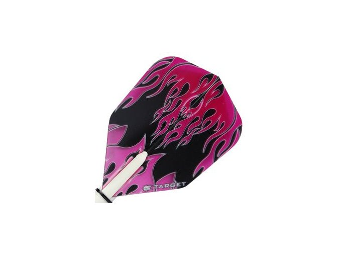Letky VISION NEW standard - Pink/Black Flame