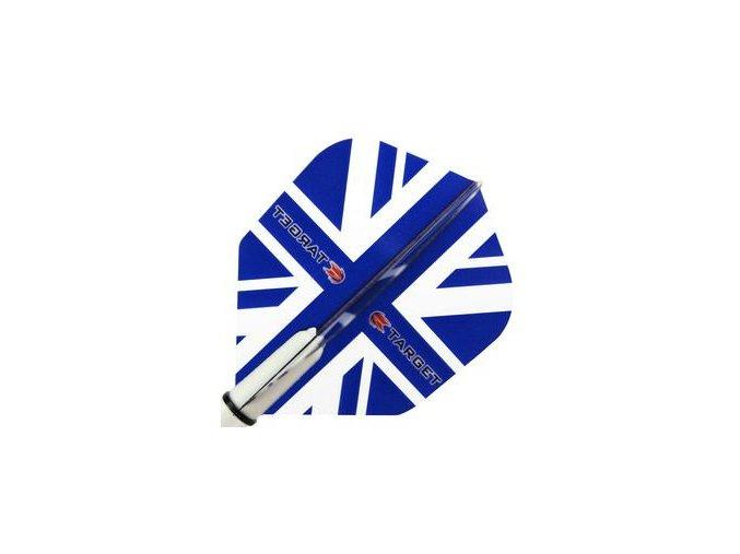 Letky VISION NEW  standard  Union Jack Blue NO6
