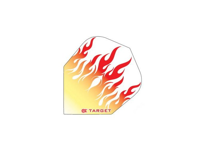 Letky VISION standard Yellow/Red Flame on White