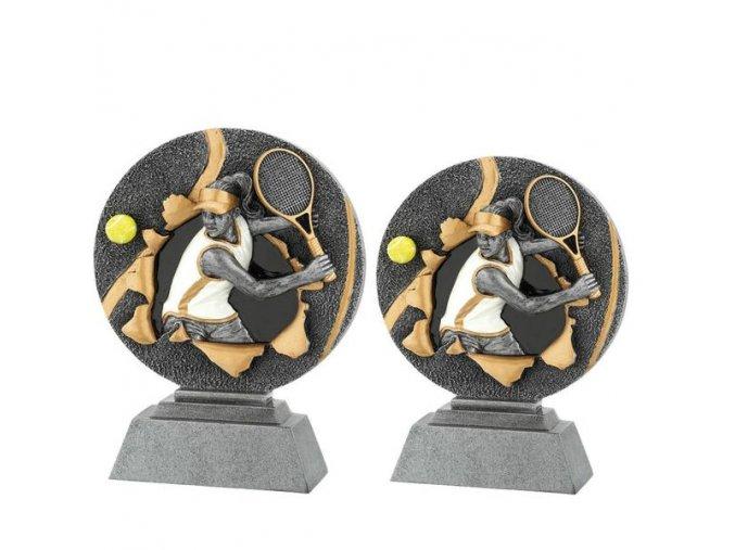 Trofej plaketa CRF2207 tenistka