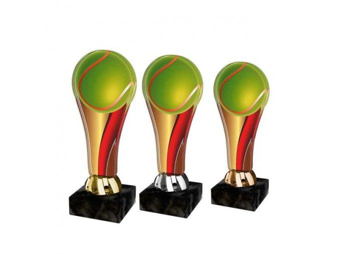Akrylátová trofej ACL2100M09 Tenis