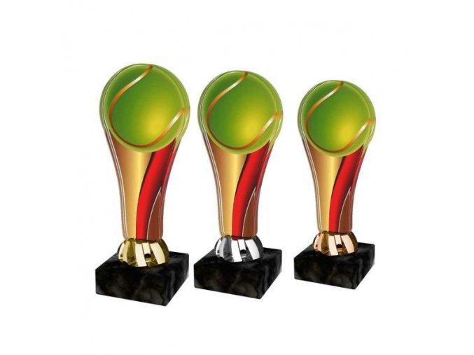 Akrylátová trofej ACL2100M07 Tenis
