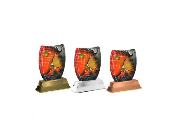 Akrylátová trofej ACE0002M15 Tenis