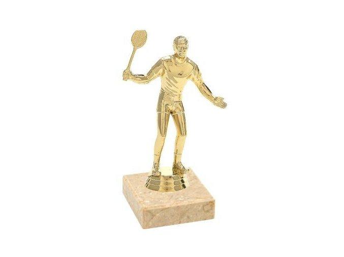 Figurka CF529 tenis zlatá