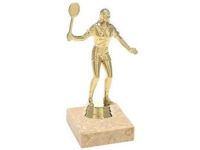 Figurka CF530 tenis  zlatá