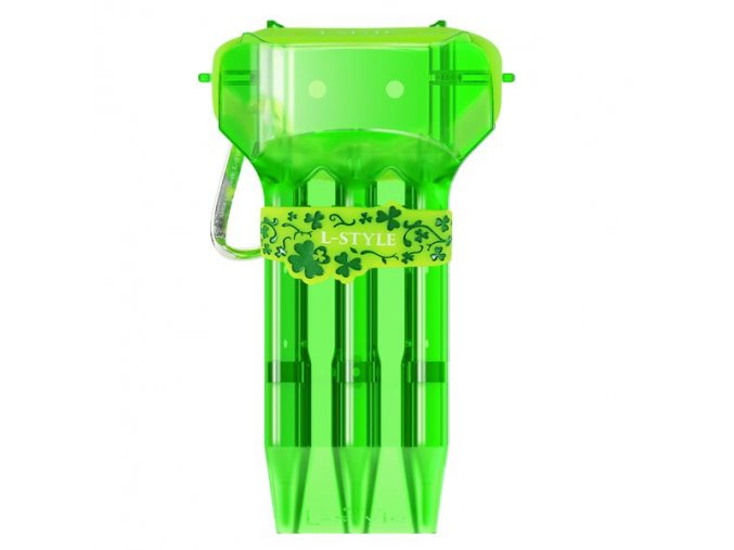 Pouzdro na šipky KRYSTAL ONE L-Style  green