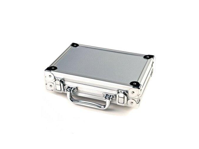 Pouzdro na šipky LUXUS PAK silver