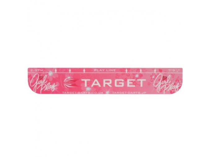 Throw Line - Odhodová čára Girl play pink