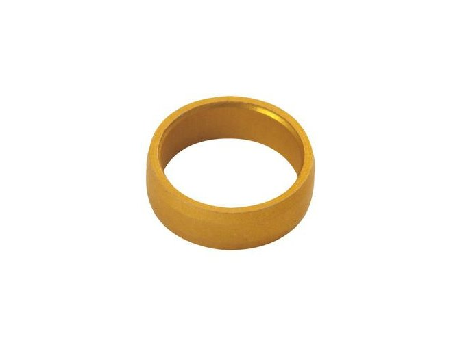 SLOT LOCK RINGS gold - kroužky