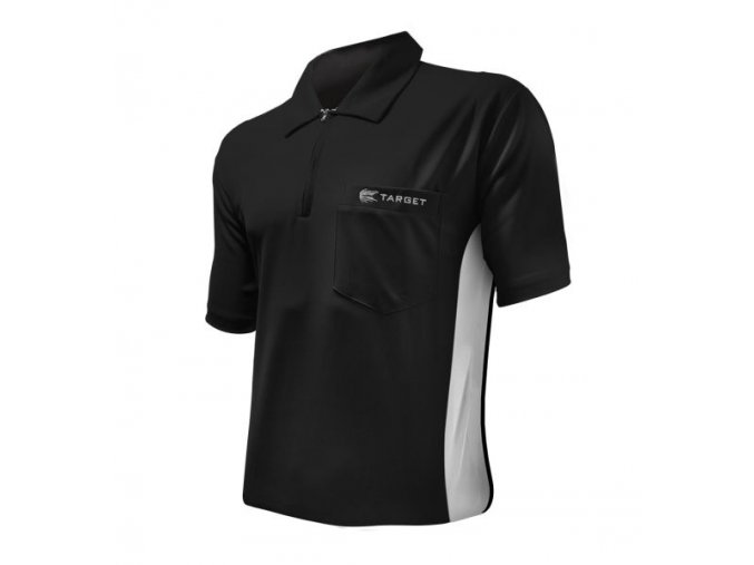 Tričko COOLPLAY DART SHIRT HYBRID black/white