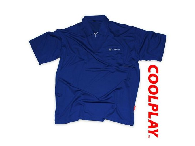 Tričko COOLPLAY DART SHIRT royal blue