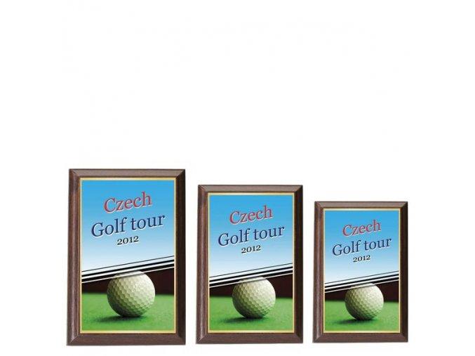 Plaketa  CPLP3M6  golf