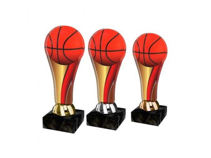 Akrylátová trofej ACL2100M15 Basketbal